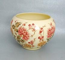 Nagy Zsolnay porcelán kaspó