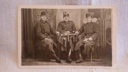 Katonák háborús fotó , képeslap Bajcsy Zsilinszky Endre hagyaték