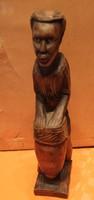 Afrikai szobor ,dobos.