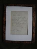 Zichy Mihály levele bátyjához 1878.