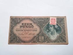 1000 Pengő 1945-ös   bankjegy!