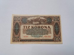 10 korona 1920 -as  bankjegy!