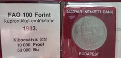 MNK 100 Forint 1983 Bu.