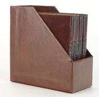 0O049 Könyv alakú igényes poháralátét készlet