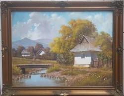Barsi Béla Eredeti Festménye