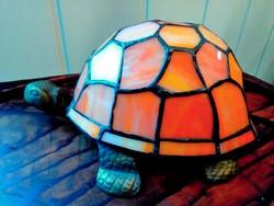 Tiffany teknős lámpa