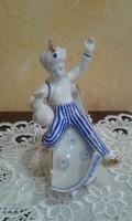 Hollóházi kézzel festett porcelán Aladin