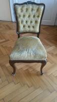 4 db antik neobarokk szék