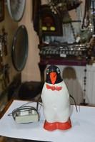 Műanyag játék pingvin