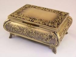 Ó aranyozott ékszertartó doboz