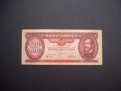 100 forint 1949 Rákosi címer !!!