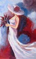 WHITE FANTASY -B.Tóth Irisz festmény csak 6 NAPIG