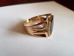 Art deco 14K arany férfi pecsétgyűrű
