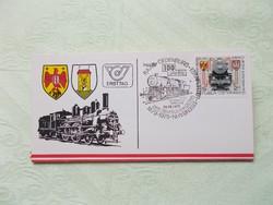 Győr-Sopron-Ebenfurt vasút 100 éves jubileum (1879-1979)