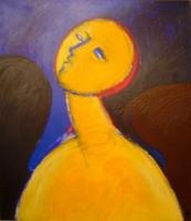 Aknay János (1949 - ): Festőangyal
