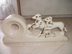Porcelán kandallóóra tartó eladó!