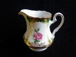 Gyönyörű rózsás tejkiöntő