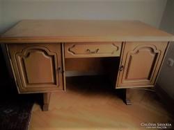 Térbe állítható rusztikus tölgy íróasztal UTOLJÁRA!