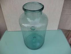 Antik fújt hutaüveg
