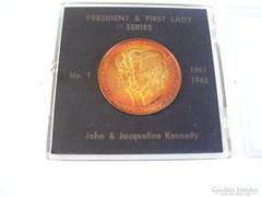 1963-PEACE-LIBERTY-KENNEDY-JACQUELINE UNC