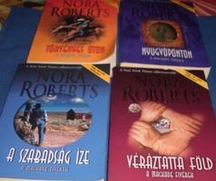 Nora Roberts,Törvényes uton,Nyugvóponton,A szabadság íze,A véráztatta föld