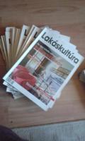 Lakáskultúra & Szép házak újság-gyűjtemény (26 db)