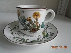 Villeroy&Boch BOTANICA sorozatból- kávés/teás csésze alátéttel(4)