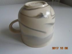 Queensberry Marble(=márvány) kerámia,Ursula és Karl Scheid design csésze Rosenthal Studio Line