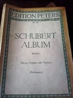 RÉGI KOTTA  -   SCHUBERT ALBUM Band I.
