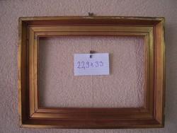 Antik képkeret (falc:33x22,9cm)