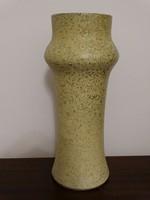 Retro kerámia váza, jelzett: M.E.