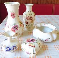 Eladó 5db Zsolnai porcelán