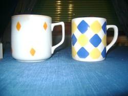 Régi gránit és porcelán teás bögre