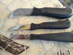 Mikov késkészlet, Mikov faragó kés készlet elegáns bőr tartóban,