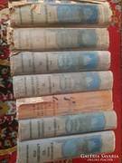 Antik ritka 7 kötet egyben 1906