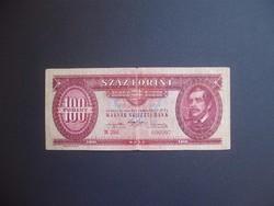 100 forint 1947 B 296 Kossuth címer !!!