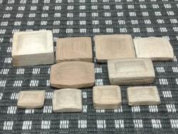 Karóra plexi formázó sablon, 10 db