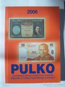 Török bankjegy katalógus.