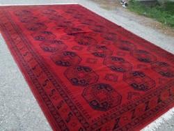 Elefánttalp mintás gyönyörű nagy méretű gyapjú szőnyeg 405cmx248cm