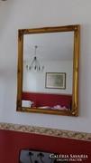 Tükör blondel keretben