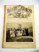 MAGYAR GÉNIUSZ1892RÉGI ÚJSÁG945