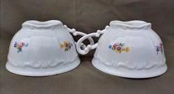 Régi virágos  Zsolnay teás csésze 2 darab