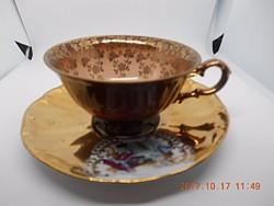 Gyönyörű Antik Kávés csésze + csészealj