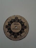Ancre számlap, 31 mm
