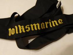 Német tengerész sapka szallag
