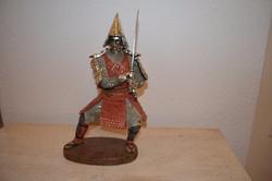 Szamuráj harcos szobor