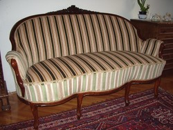 Gyönyörű bécsi barokk kanapé, szófa