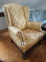 Fantasztikus Füles fotel(  KATRINA)Új kárpit