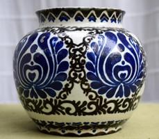 Magyar szecessziós kerámia váza  Keszthely 1928