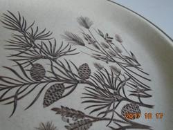 """Grindley-""""Pinewood""""mintával-angol tál-25,8 cm (4)"""